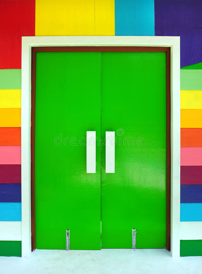 Download Multicolored of door stock photo. Image of beautiful - 22281440