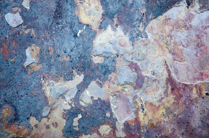 Multicolored en Oude ceramische textuur of achtergrond royalty-vrije stock foto