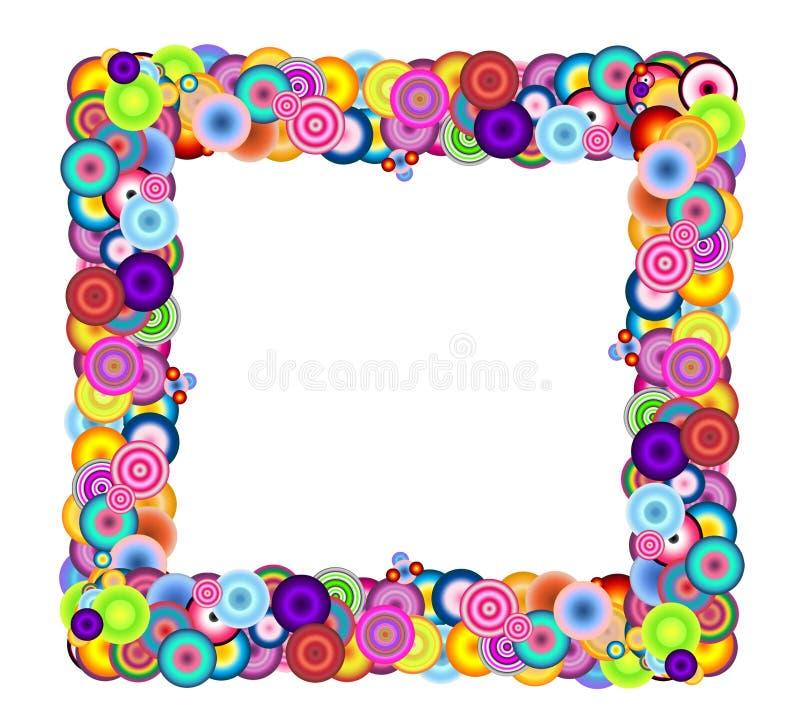 Multicolored Frame vector illustration