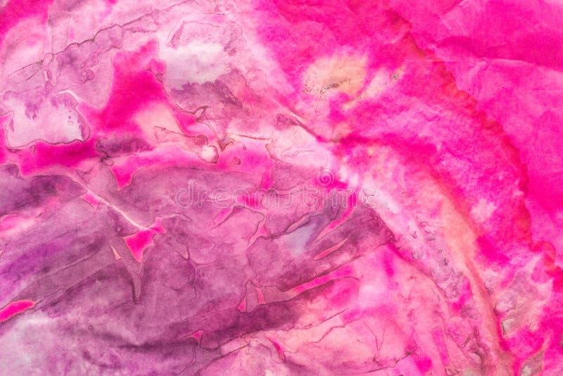 Multicolored gevouwen papieren zakdoekje bacground textuur royalty-vrije stock afbeeldingen