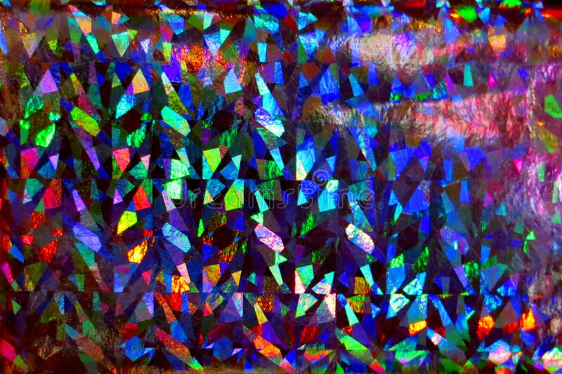 multicolored glowing surface royalty free stock photography