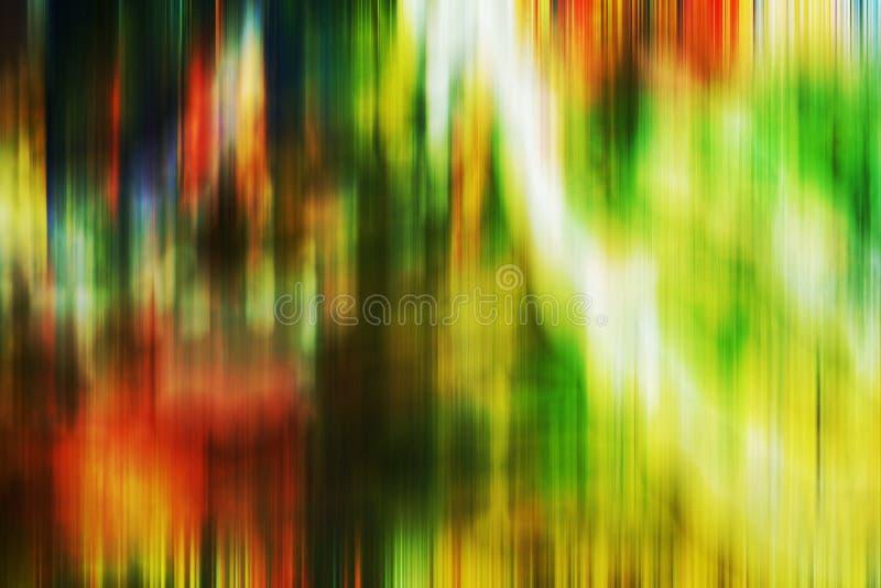 Multicolored groene witte sinaasappel vertroebelde schaduwen, vormen, meetkunde, samenvat creatieve achtergrond royalty-vrije illustratie