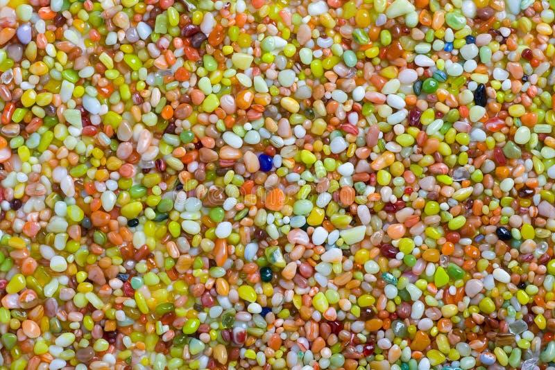Multicolored kiezelsteen royalty-vrije stock afbeeldingen