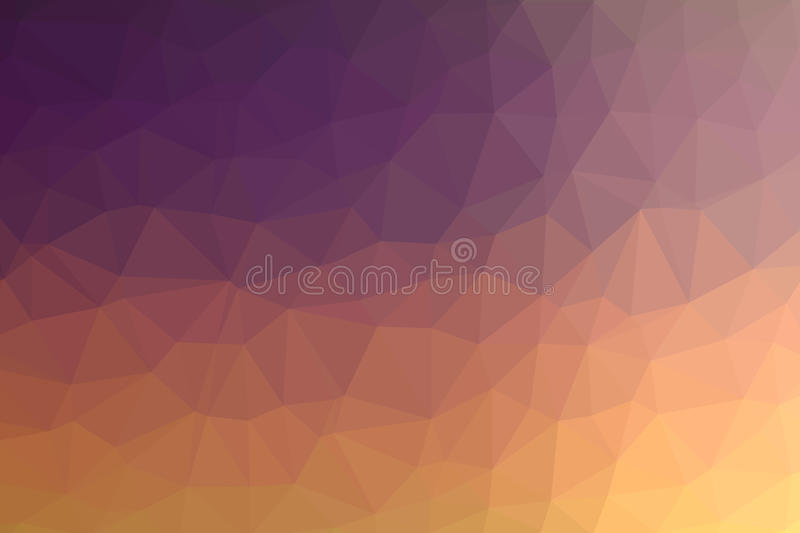 Multicolored laag polly backgounds vector illustratie