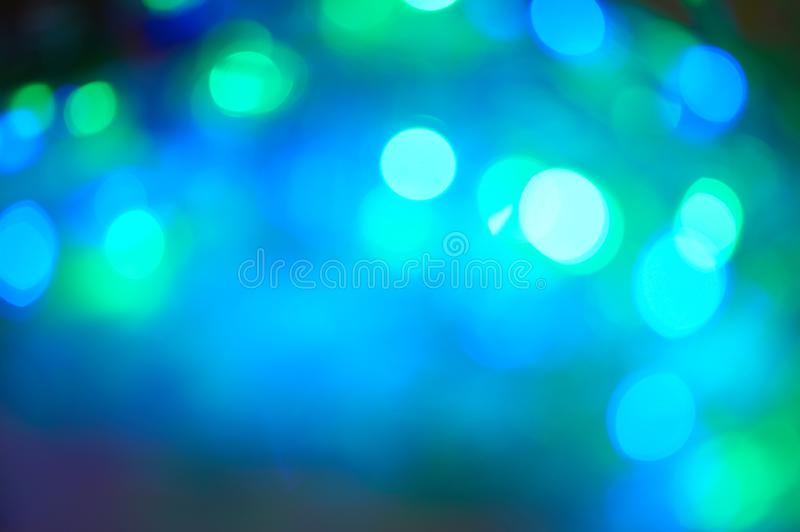 Multicolored lights in blur. Background for design. New year. Chrismas. Concert royalty free stock photography