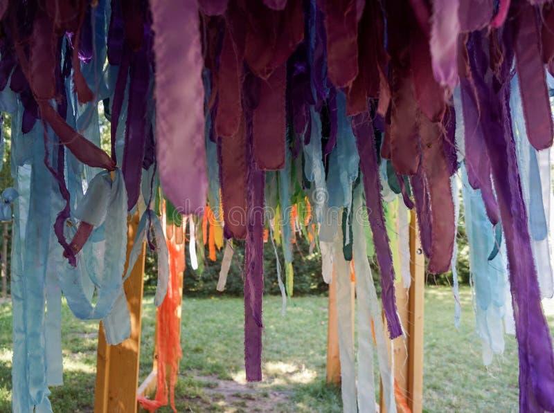 Multicolored Linten royalty-vrije stock foto