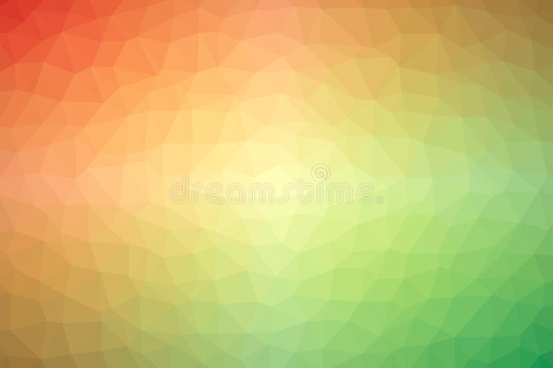 Multicolored low polly backgounds stock illustration