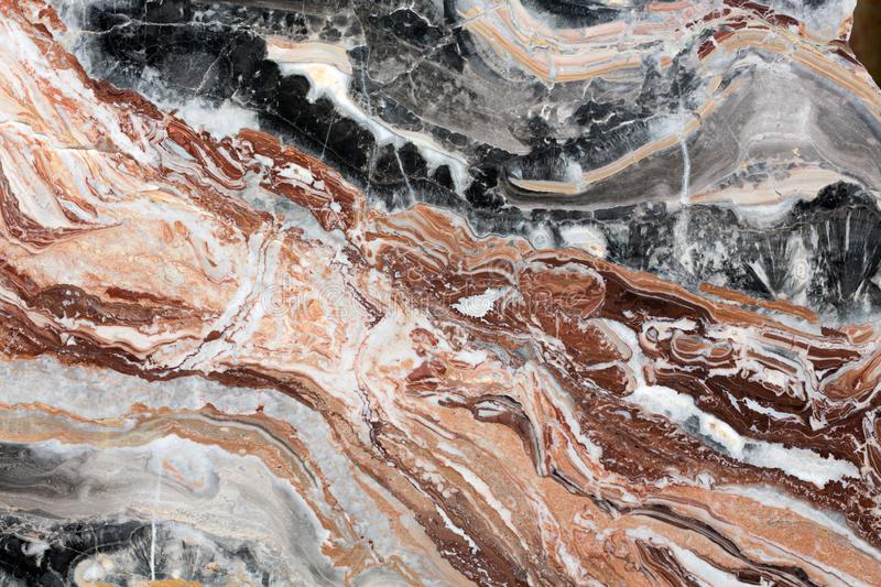 Multicolored marble texture for design. royalty free stock photo