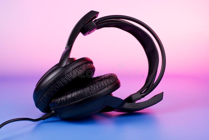 Multicolored music stock photo