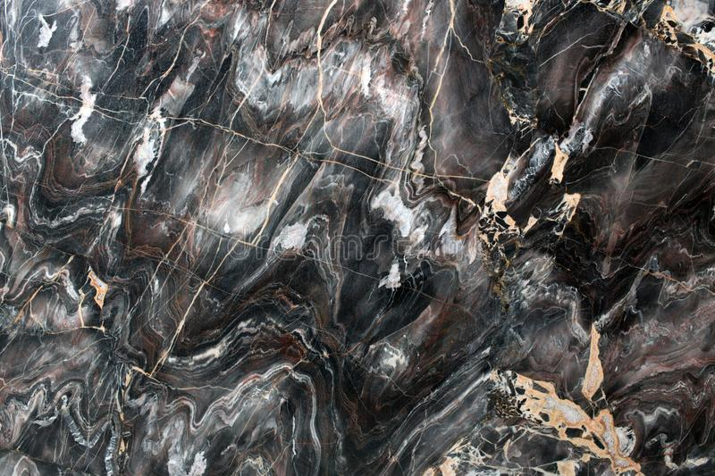 Multicolored natural marble close up. stock image