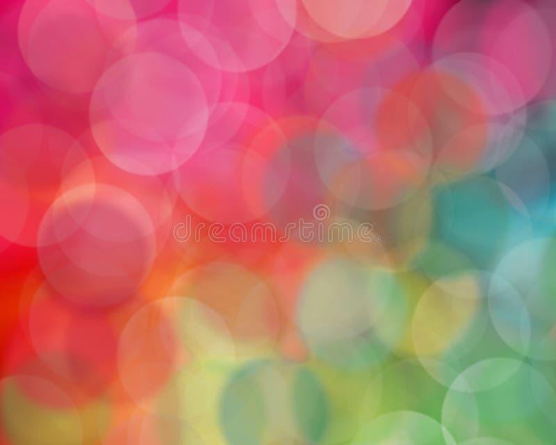 Multicolored Onduidelijk beeld stock fotografie