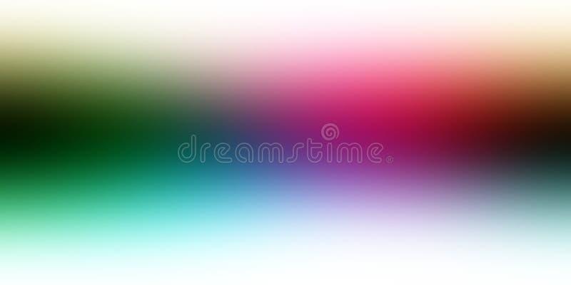 Multicolored onduidelijk beeldsamenvatting in de schaduw gesteld behang als achtergrond, vectorillustratie vector illustratie