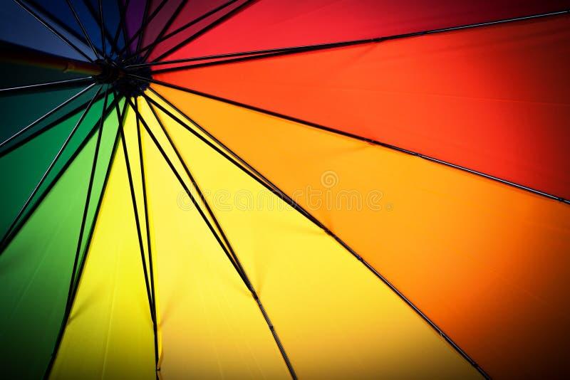Download Multicolored Paraplu Binnen Mening Stock Afbeelding - Afbeelding bestaande uit multicolored, handvat: 39105445