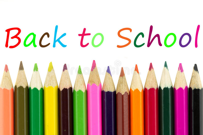 Download Multicolored pencils stock image. Image of leisure, multicolored - 20010867