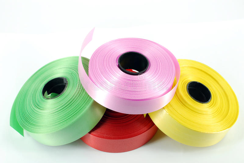 Download Multicolored ribbons stock image. Image of pink, happy - 11965207