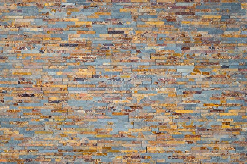 Multicolored slate stone rock background royalty free stock image