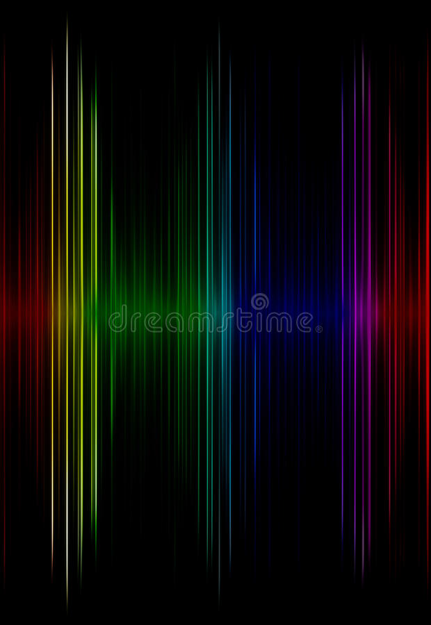 Multicolored sound equalizer as abstract background. vector illustration