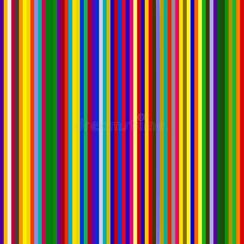 Download Multicolored stripes stock vector. Image of thin, draw - 8342099