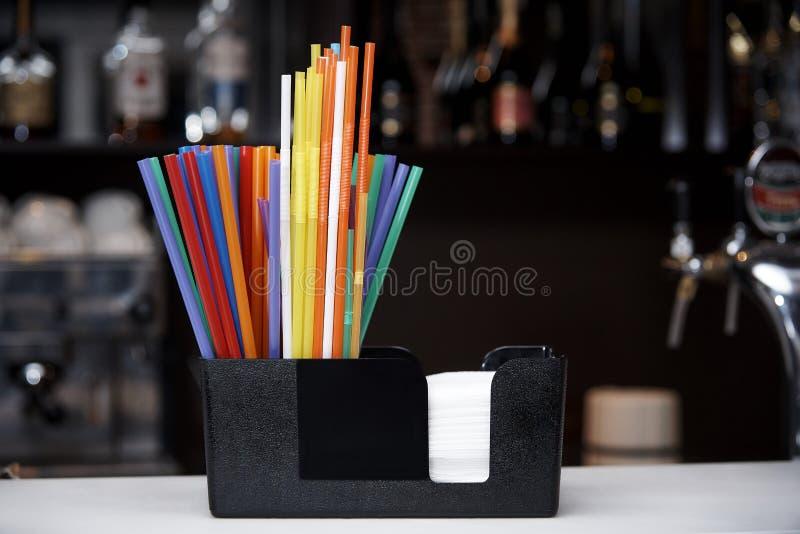 Multicolored stro stock afbeeldingen