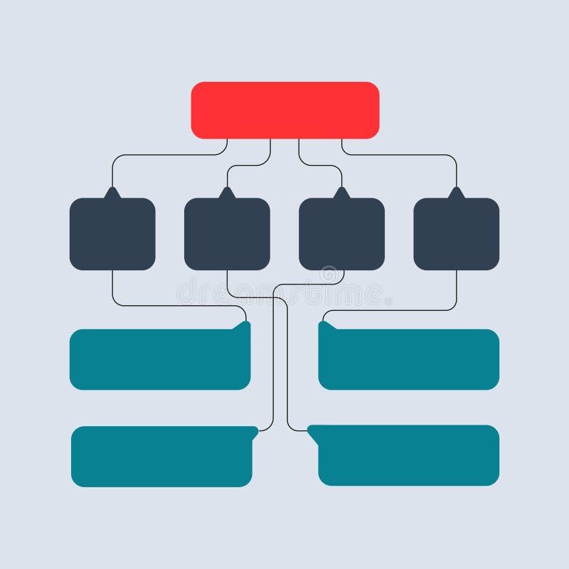 Multicolored structural schemes, diagrams, web designs. Business structure concept. Vector design Illustration. Multicolored structural scheme. Infographics vector illustration