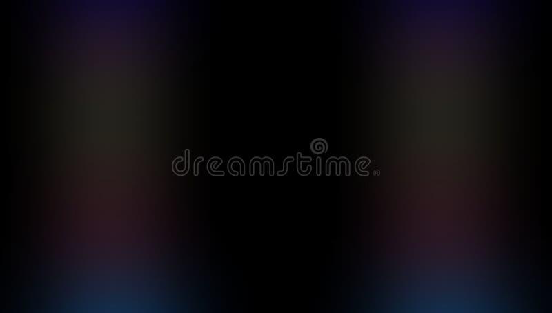 Multicolored vaag in de schaduw gesteld behang als achtergrond levendige kleuren vectorillustratie vector illustratie