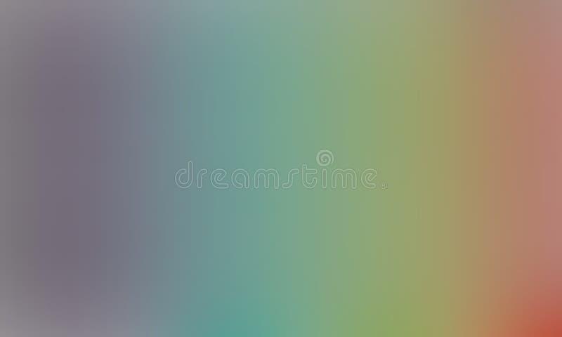 Multicolored vaag in de schaduw gesteld behang als achtergrond levendige kleuren vectorillustratie royalty-vrije illustratie