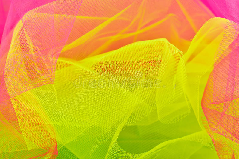 Multicolored veil royalty free stock photo