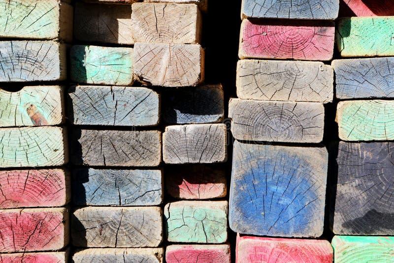 Multicolored Wooden Ornaments Free Public Domain Cc0 Image