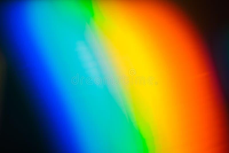 Multicolorts abstracte, kleurrijke achtergrond, ongewoon lichteffect stock foto
