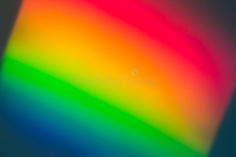 Multicolorts abstracte, kleurrijke achtergrond, ongewoon lichteffect stock foto's