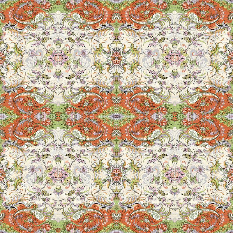 Multicolour Geomatrical New Pattern Design stock illustration
