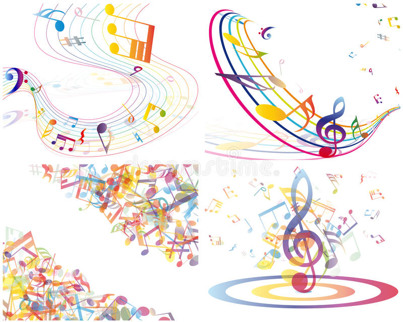 Download Multicolour  Musical Stock Images - Image: 26663154