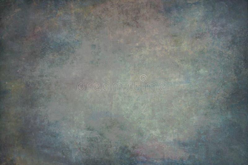 Multicolour muslin hand-målade bakgrunder royaltyfri bild