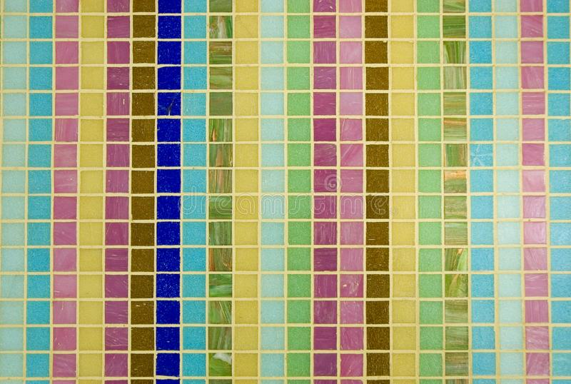 Multicoloured mosaic texture royalty free stock image