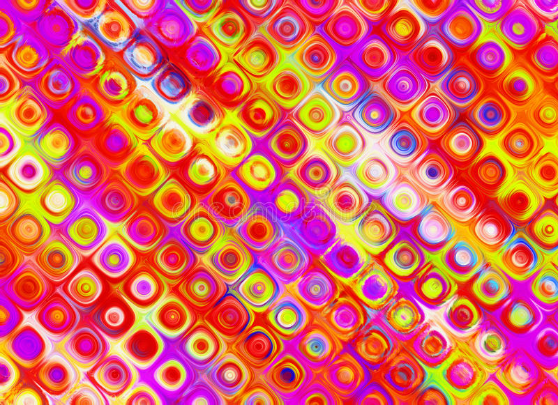Multicoloured summer backgrounds of glass wall vector illustration