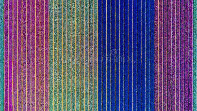 Multicolours bloeit gebiedssatellietbeeld van hommel in Holland, de bloemen van de de lentetijd in Keukenhof royalty-vrije stock afbeelding