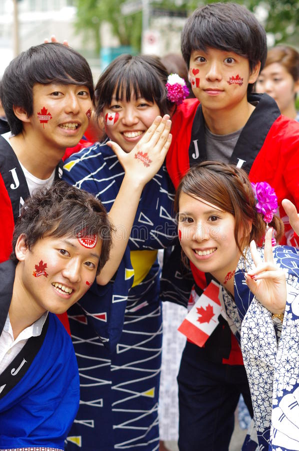 Free Multicultural Canada Day Celebrations Royalty Free Stock Image - 42198936