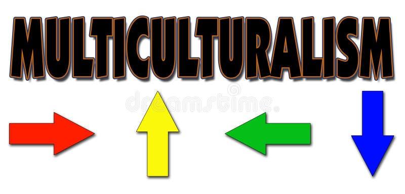 Multiculturalism stock illustratie