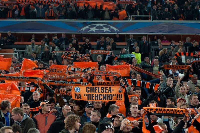 Multidão do estádio imagens de stock