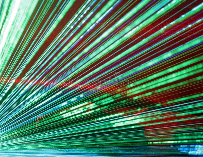 Multidão do laser fotos de stock