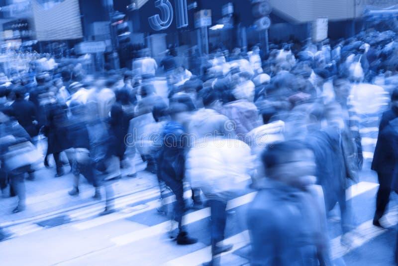 Multidões de povos imagens de stock