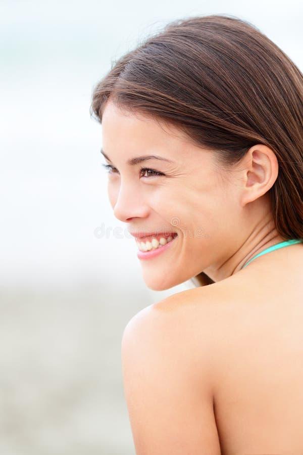 Multiethnic girl portrait stock photo