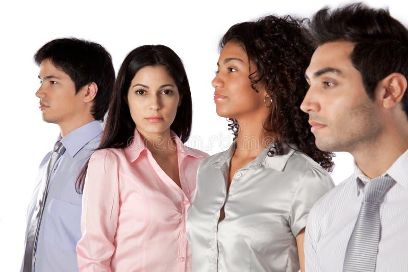 Multiethnic Group of Businesspeople stock image