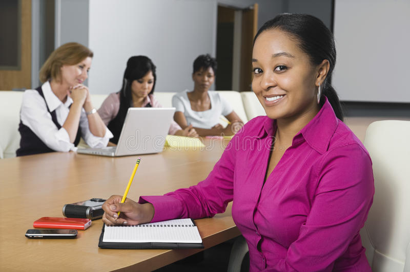 Multiethnic Group Of Businesswomen royalty free stock photography