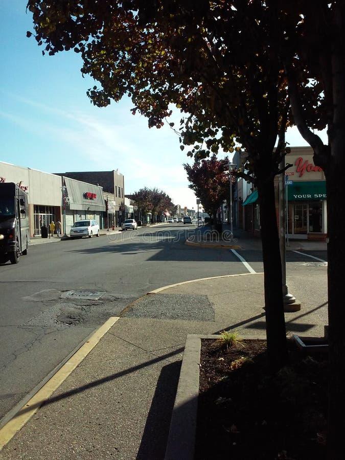 Multiethnische Stadt von Note Hamtramck Michigan-ein von Europa in Amerika stockfotografie