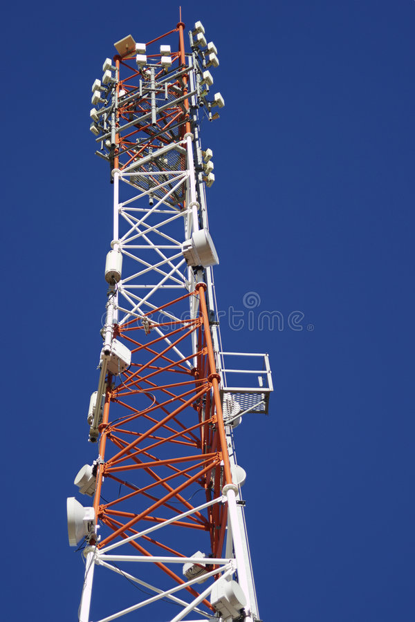 Download Multifunctional antenna stock photo. Image of mobile, receptor - 1709736