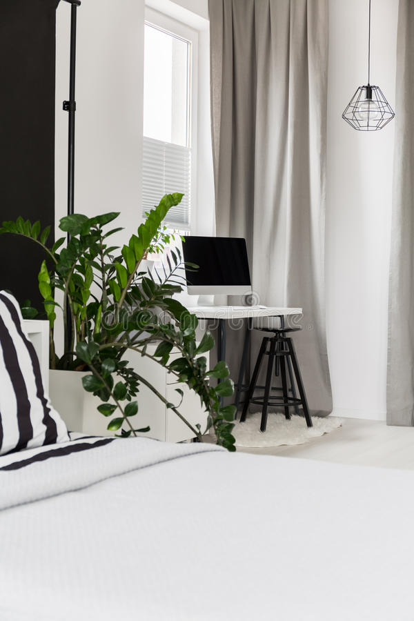 Multifunctional living space idea royalty free stock images