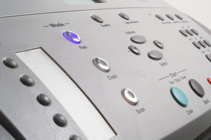 Multifunktionstelefax-Maschine lizenzfreie stockfotos