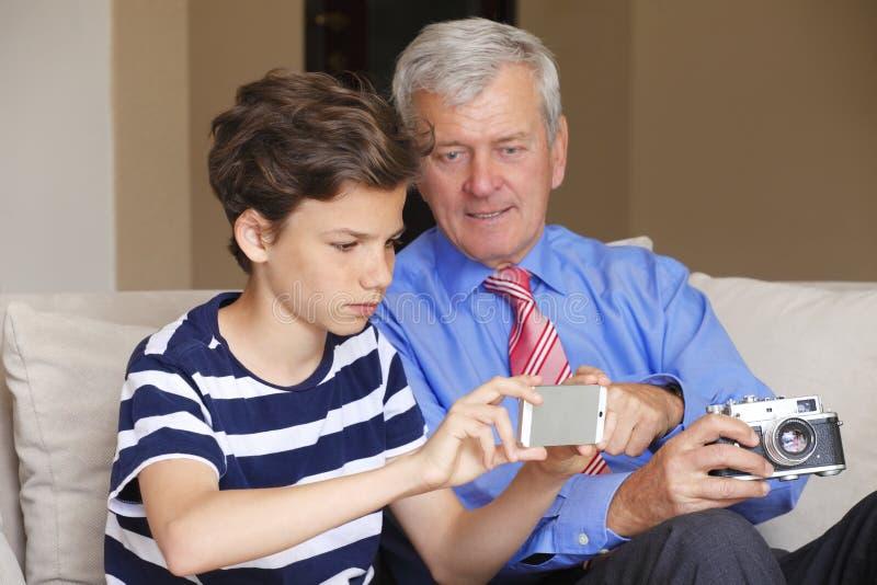 Multigeneratie stock foto's
