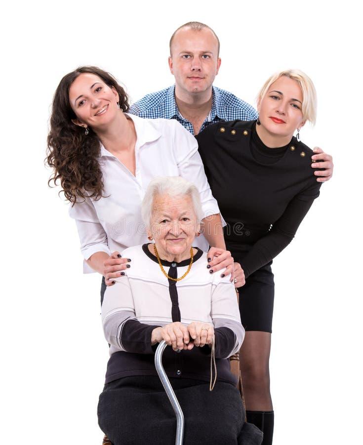 Download Multigeneration family stock image. Image of retirement - 35357187